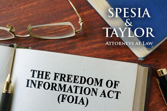 FOIA - Spesia & Taylor